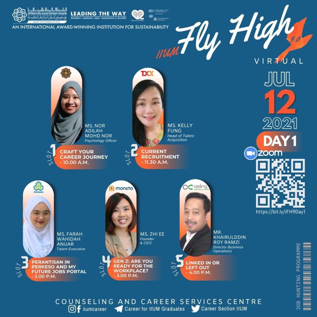IIUM FLY HIGH 9.0 DAY 1