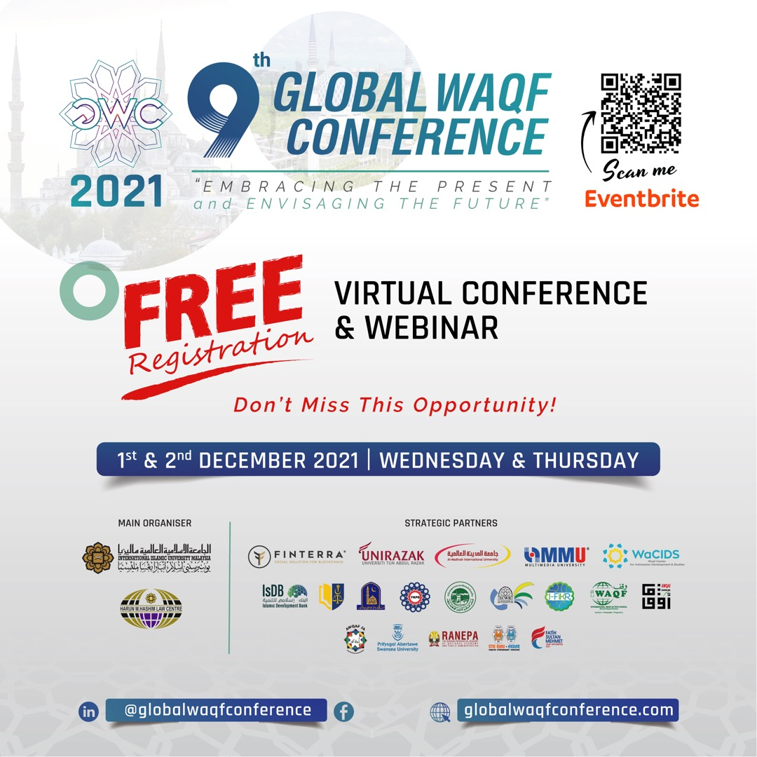 9TH GLOBAL WAQF CONFERENCE (GWC 2021)