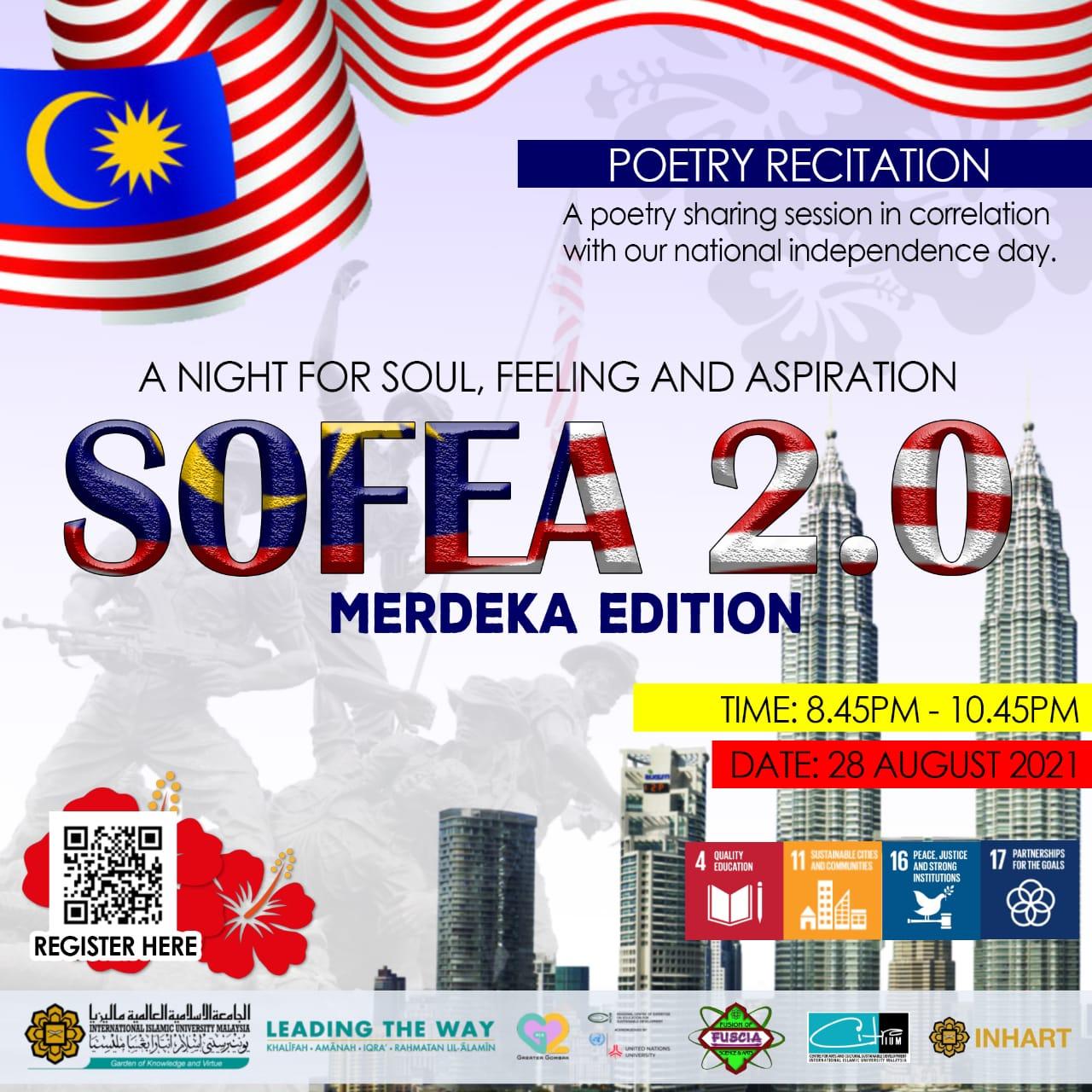 A Night for SOFEA (Soul, Feeling and Aspiration) 2.0: Merdeka Edition