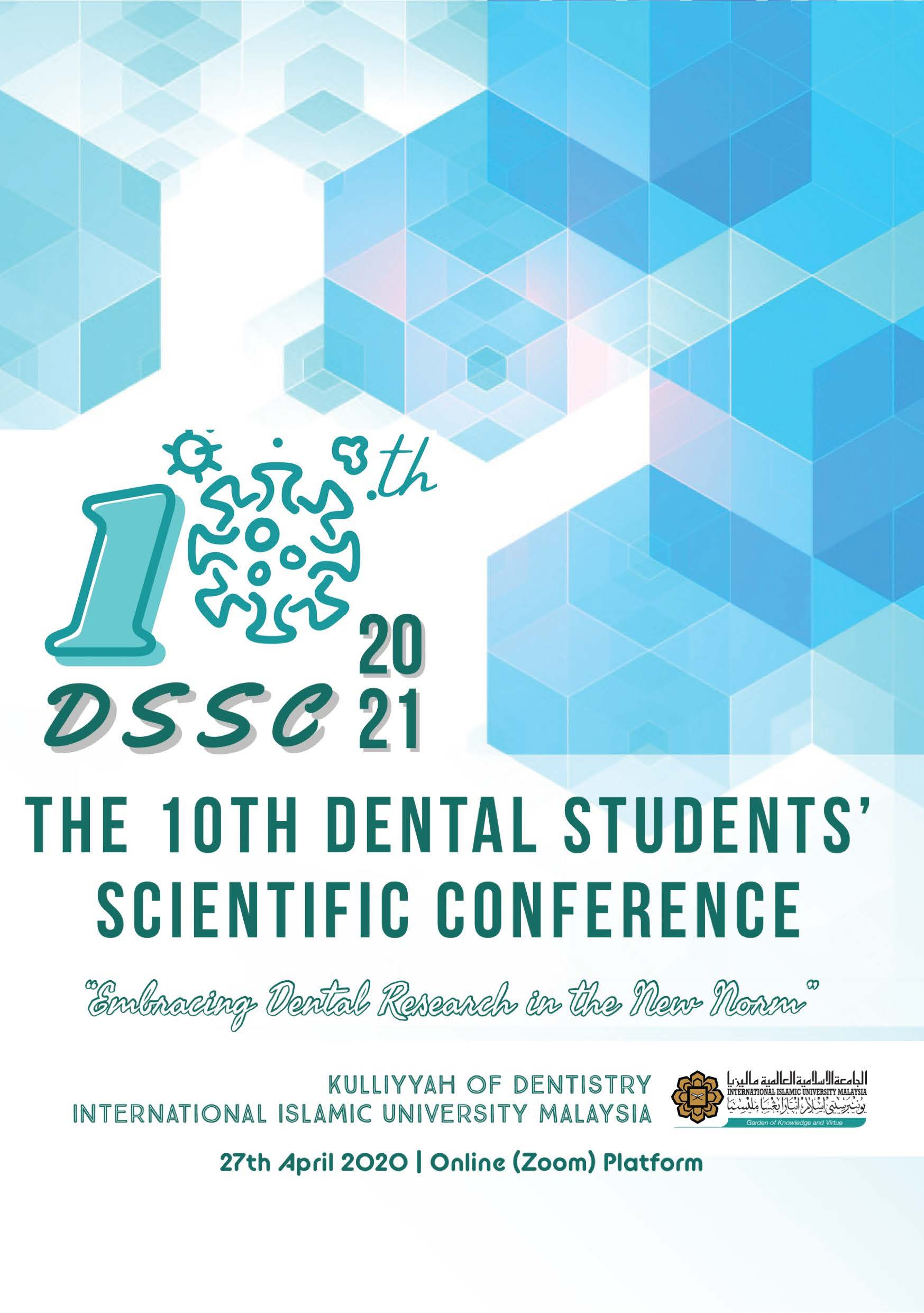 10th Dental Students' Scientific Conference 2021