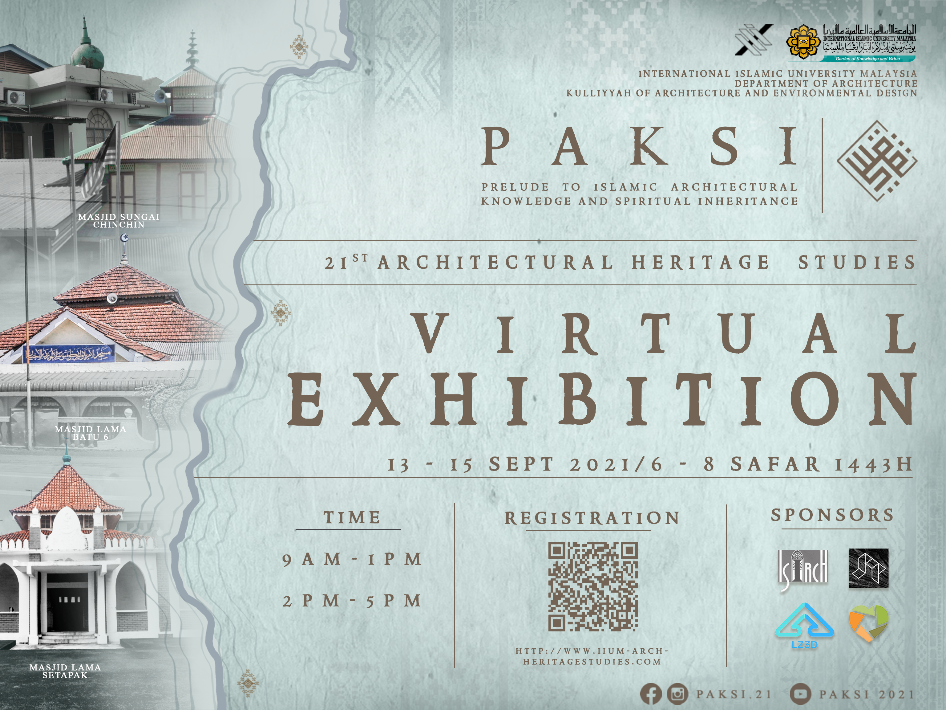 PAKSI 2021 (Prelude to Islamic Architectural Knowledge And Spiritual Inheritance)