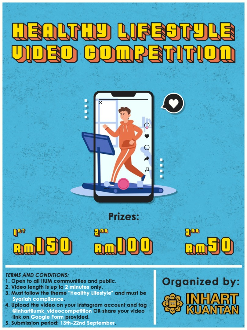 HEALTHY LIFESTYLE VIDEO COMPETITION