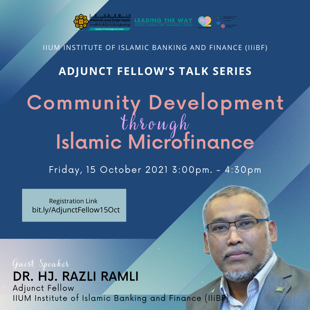 Adjunct Fellow's Talk Series