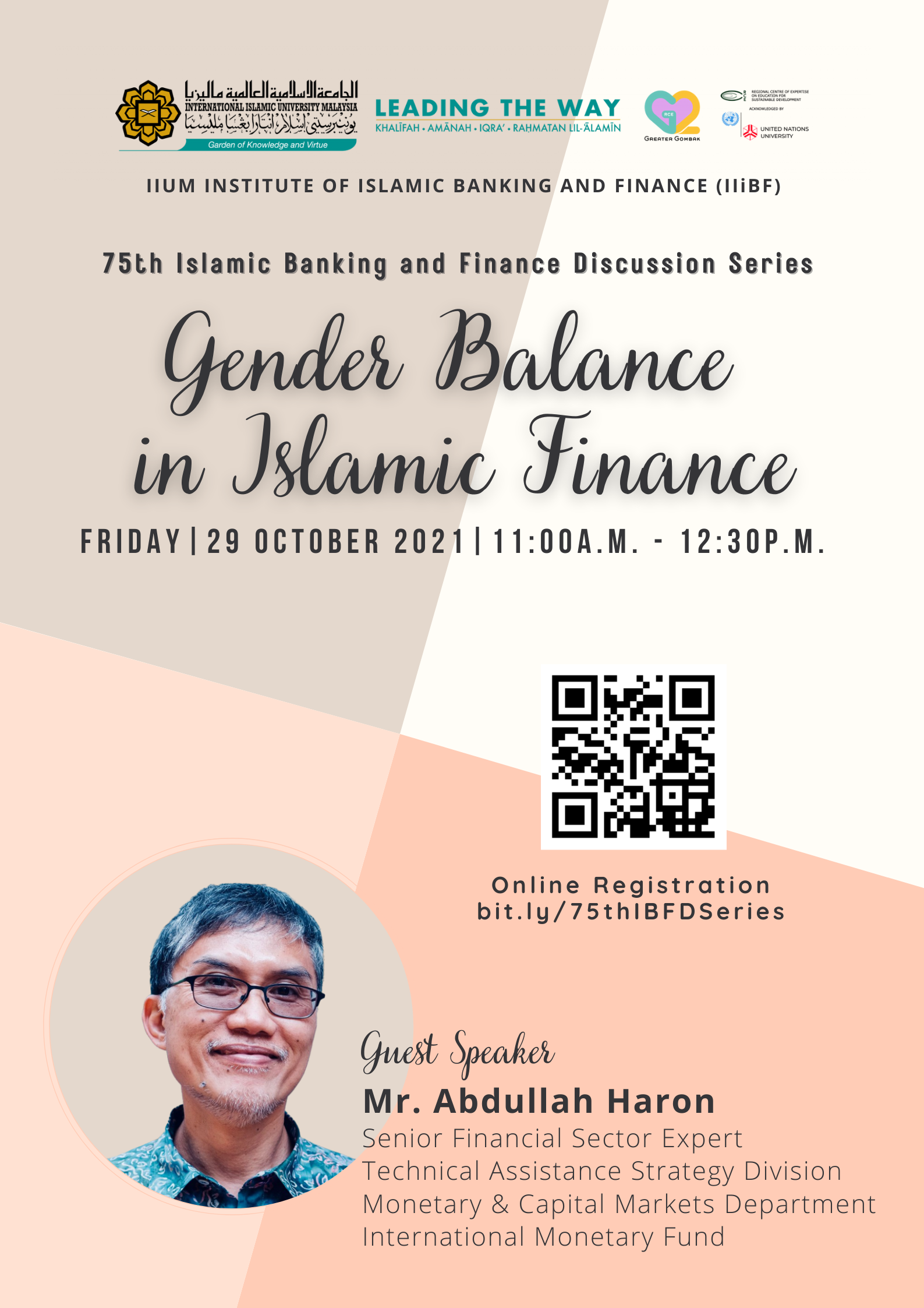 75th Islamic Banking and Finance Discussion Series