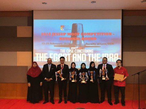 IIUM Mooters Achievement won 2nd Place in  Philip C. Jessup International Law Moot Court Competition