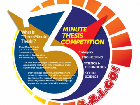 IIUM 3 Minutes Thesis Competition (3MT)