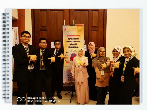 Congratulation KOD team for achievements during 10th National Dental Student's Scientific Conference
