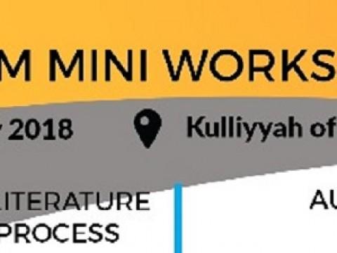 ICT4M MINI WORKSHOP