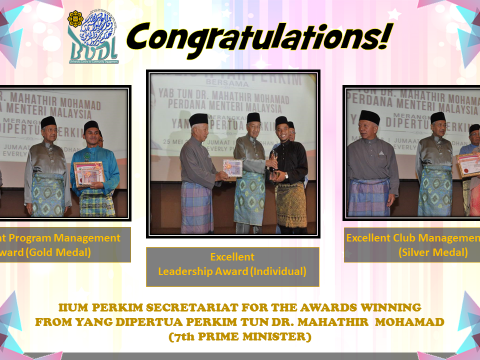 CONGRATULATION TO WINNER NATIONAL PERKIM AWARD 2018