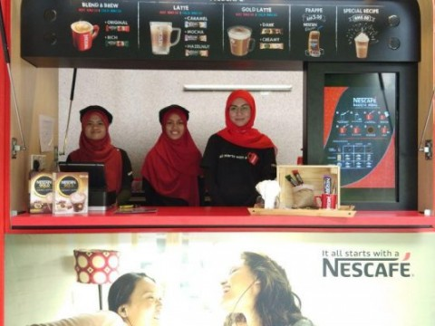 IIUM Nescafe hub, a new stall for coffee lovers
