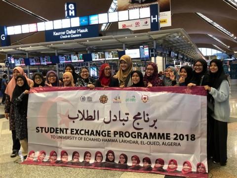 Exchange Program to University of  Echahid Hamma Lakhdar, El-Oued, Algeria
