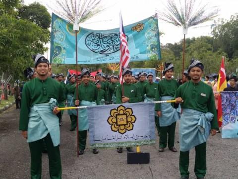 Kontinjen UIAM sertai perarakan Maulidur Rasul 1440H