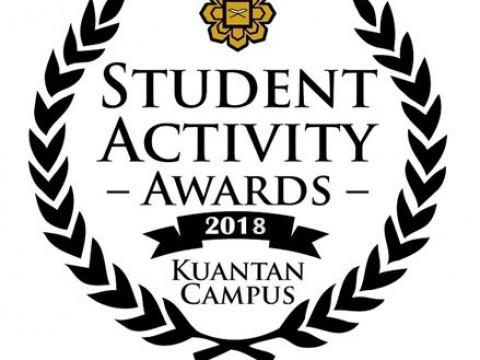 CONGRATULATIONS TO ALL AWARD WINNERS FOR THE IIUM KUANTAN STUDENT ACTIVITY AWARDS 2018!