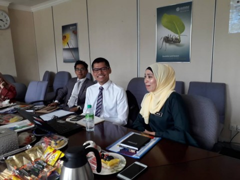 Meeting with Dr Nur Aida Kipli of Bahagian Education Malaysia, JPT