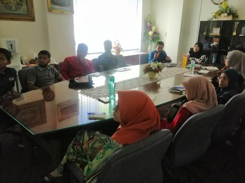 13 Feb 2019 - Briefing on Urban kit by Mr. Mohd Johaary bin Abdul Hamid, Deputy Director of Quality Management Programme, MARDI