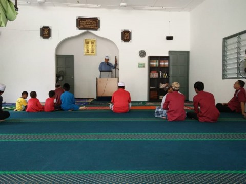 Friday Prayer at Kampung Orang Asli