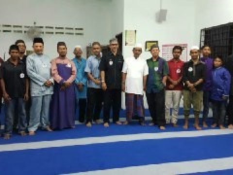 Community Service at Kampung Orang Asli Batu 14, Jalan Kuantan Maran, Kuantan, Pahang