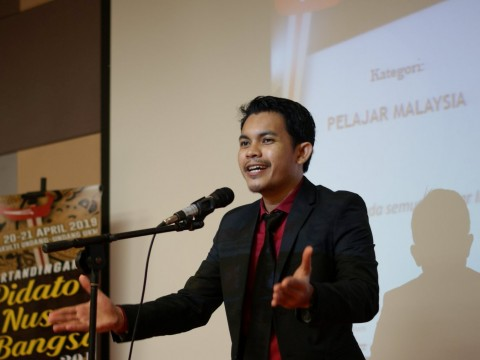 IIUM Student's Achievement at the Pertandingan Pidato Nusa Bangsa 2019