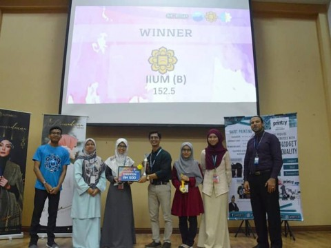 IIUM Team Won the 5th MyPSA National Clinical Pharmacy Challenge 2019 (NCPC 2019)