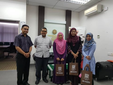 Meeting on Research collaboration with Researchers from Faculty of Muamalat and Managament, KUIS