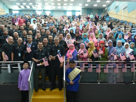 AMANAT HARI KEMERDEKAAN 2019 CFS IIUM GAMBANG CAMPUS