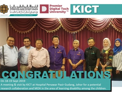 KICT Visit to Hospital Penawar: Towards MOA & Collaboration