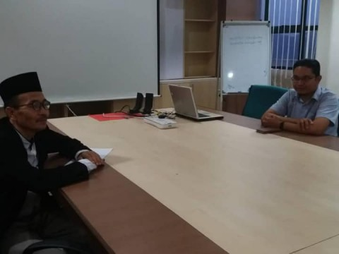 A visit by Deputy Rector of IAIN Salatiga Indonesia
