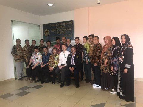 A visit by Rector, Deans and Directors of IAIN Salatiga