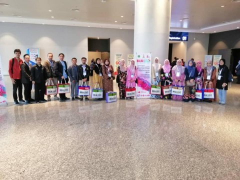 Inhart staff and students visit to Halal Conference