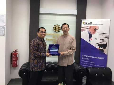 A Visit by KNKS Komite Nasional Keuangan Shariah Indonesia