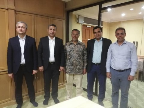 ​Visit by the delegation from the first Islamic Bank in Tajikistan