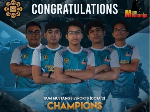 IIUM Mustangs E-Sports team bags multiple prizes at MASUM championship