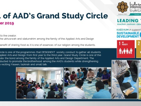 Depatment of AAD's Grand Study Circle