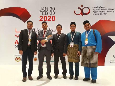 IIUM Arabic Debate Team was Semifinalist in Asian Arabic Debating Championship 2020