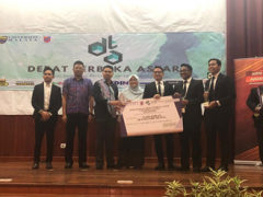 STUDENTS' ACHIEVEMENT AT PERTANDINGAN DEBAT TERBUKA ASTAR 2018/2019