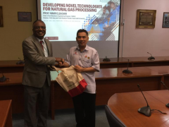 A talk delivered by Prof Dr NIMIR O. ELBASHIR from Texas A & M University, Qatar