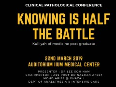 """Knowing is Half the Battle"" - KOM CPC by Dept. of Anaesthesiology"