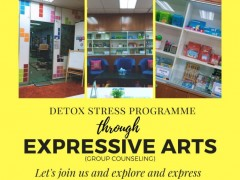 DETOX STRESS PROGRAMME THROUGH EXPRESSIVE ARTS