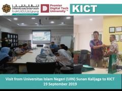 Visit from Universitas Islam Negeri (UIN) Sunan Kalijaga to KICT