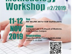 Research Methodology Workshop No.2/2019
