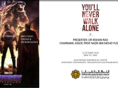 'You'll Never Walk Alone' - KOM CPC by Dept. of Orthopaedics,Traumatology and Rehabilitation