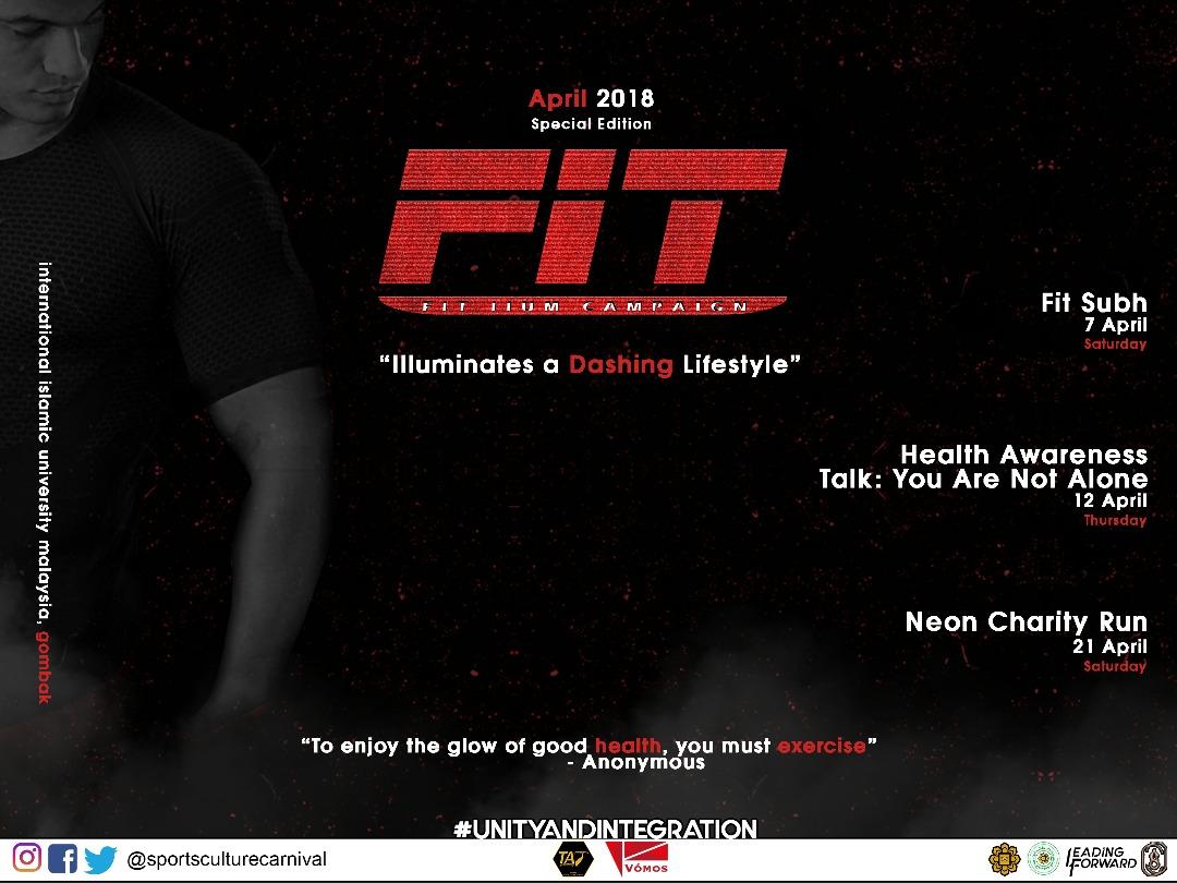FIT IIUM Campaign 2018