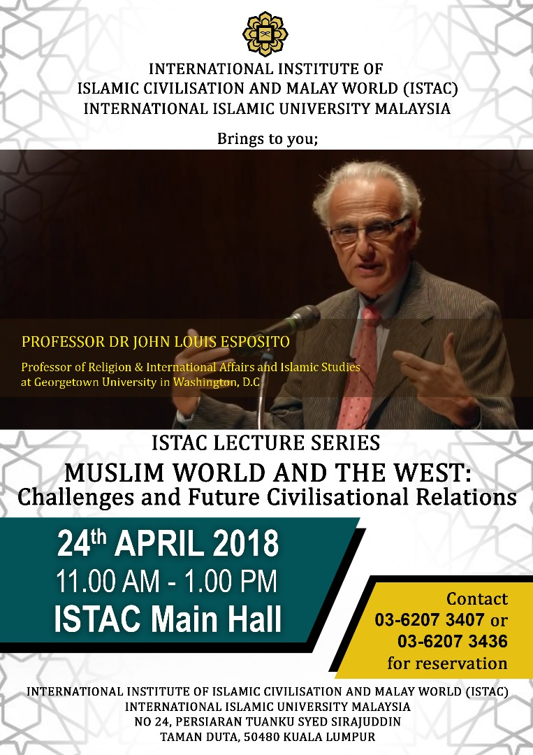 Muslim World and the West: Challenges and the Future Civilisational Relations