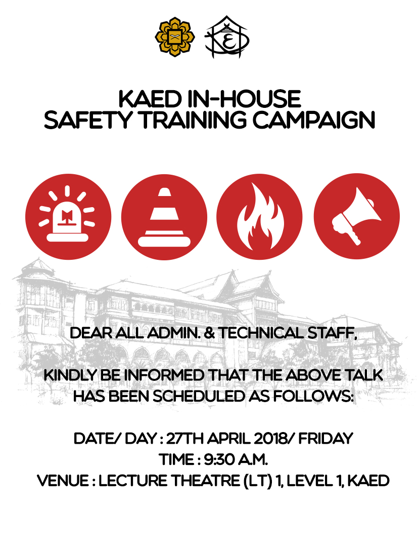 KAED In-House Safety Training Campaign