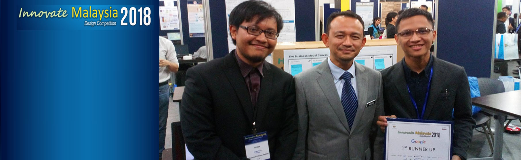Innovate Malaysia Design Competition 2018: IIUM Team Wins 1st Runner Up