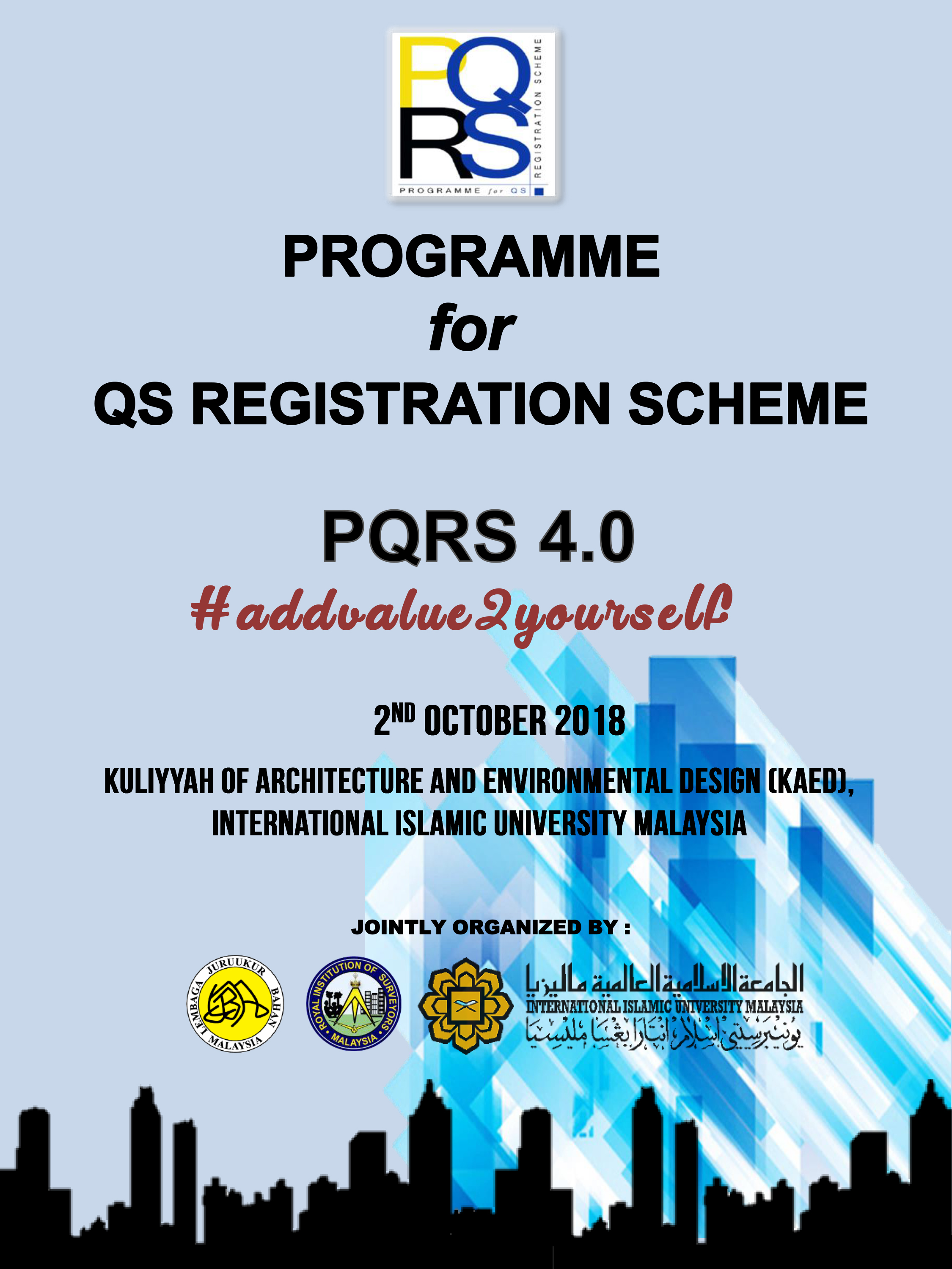 PQRS 4.0 : #addvalue2yourself
