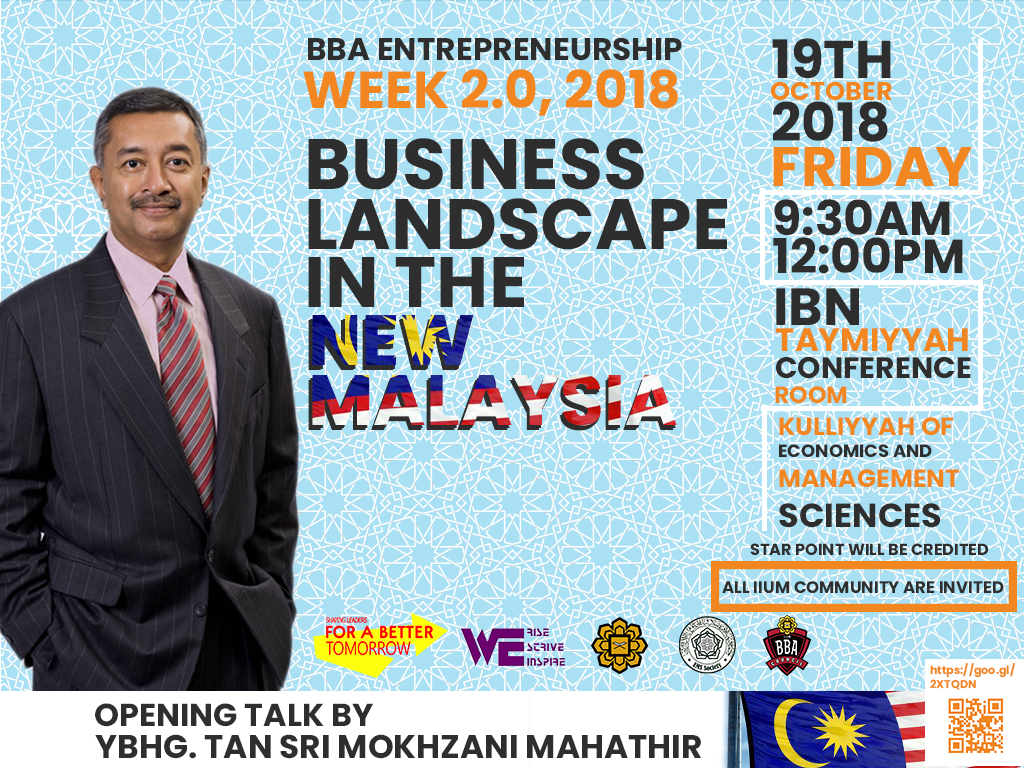 Busine Landscape In the Mew Malaysia