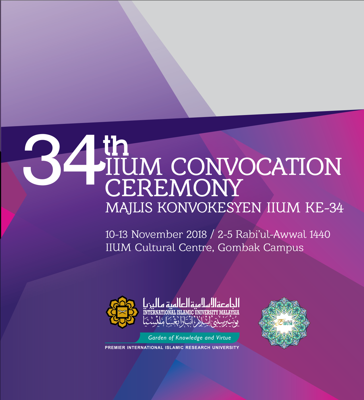 IIUM 34th Convocation