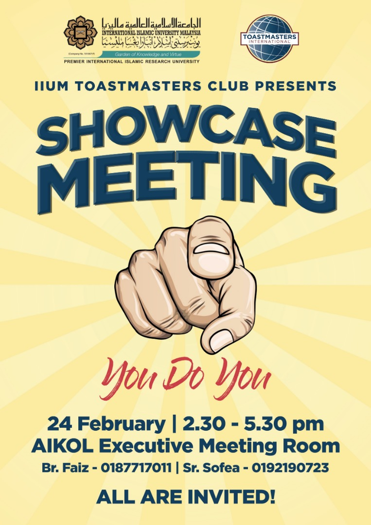 SHOWCASE MEETING