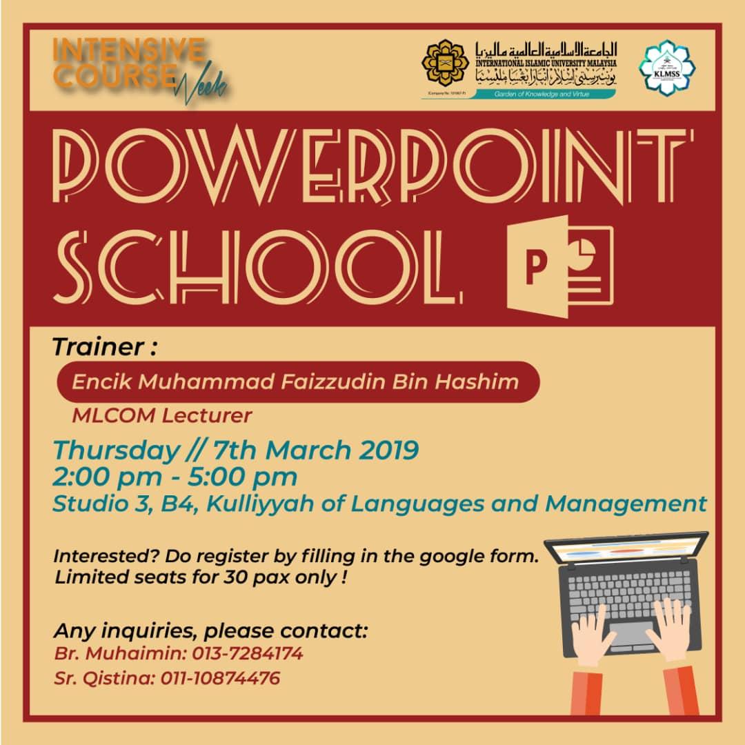 Powerpoint School